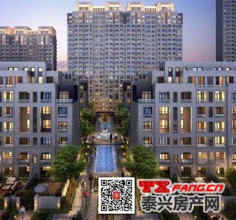 泰兴新城樾府非毛坯高层房在售