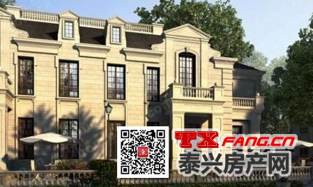 泰兴紫誉东方双拼、独栋别墅99折优惠