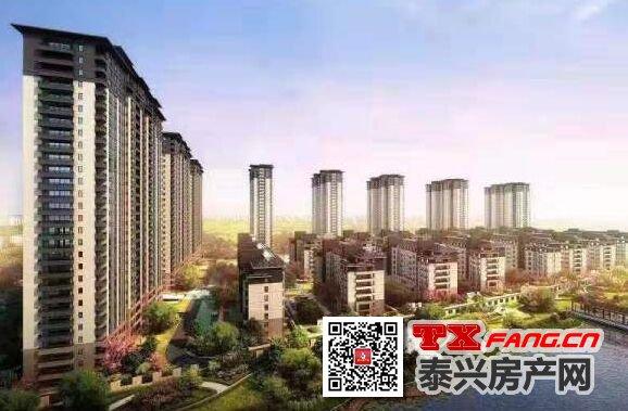 泰兴水岸康城加推新品高层3#楼
