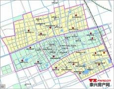 泰兴幼儿园分布图(含待建)